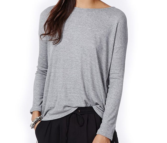 Casual Grey Top in UK and Australia