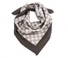 Check-Box Printed Scarf in UK and Australia