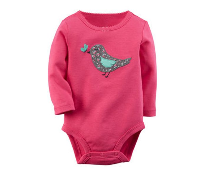 Chirpy Pink Bodysuit in UK and Australia