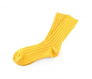 Chrome yellow classy winter socks in UK and Australia