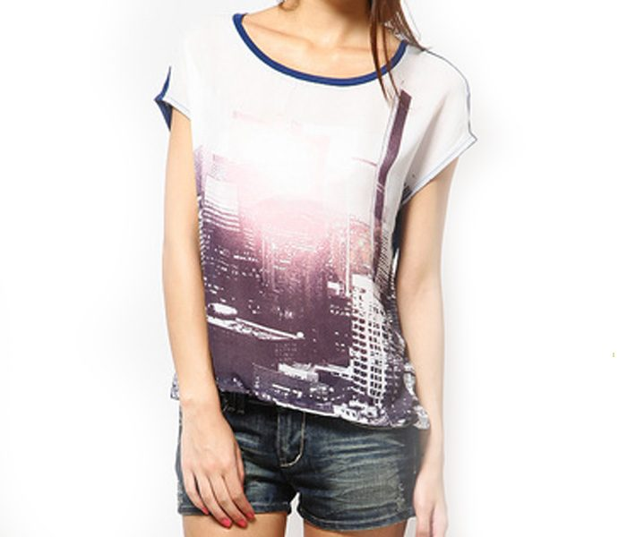 City Lights Casual Tee in UK and Australia