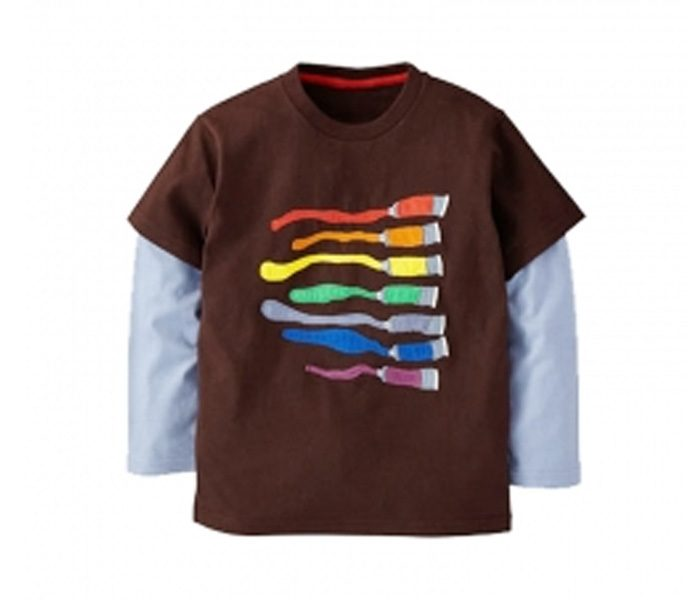 Colorblast Double Sleeve T Shirt in UK and Australia