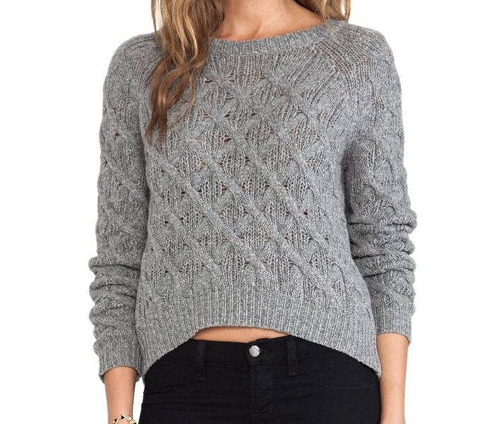 Cool Grey Sweater in UK and Australia