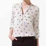 Cool White Printed Shirt UK and Australia