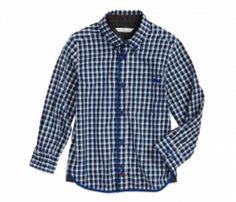 Crisp blue Check Shirt in UK and Australia