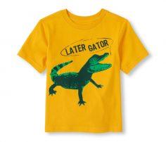 Cute Alligator Printed T Shirt in UK and Australia