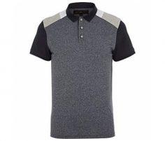 Dark Grey Polo T Shirt in UK and Australia