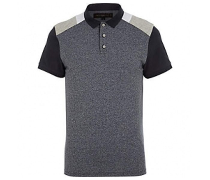 Dark Grey Polo T Shirt in UK and Australia