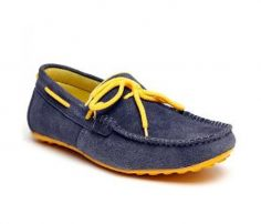 Denim and Yellow Loafers in UK and Australia