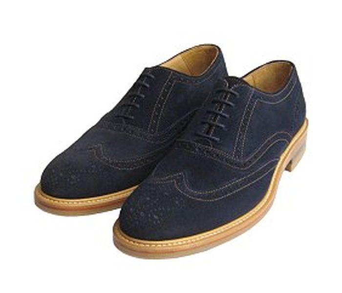 Denim Cutwork Brogue Shoes in UK and Australia