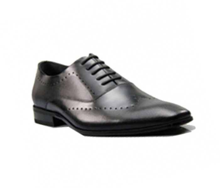 Dotted Black Formal Shoes in UK and Australia