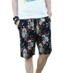 Dreamy Flower Shower Beach Shorts in UK and Australia