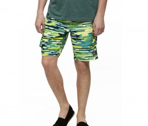 Dressy Army Print Beach Shorts in UK and Australia