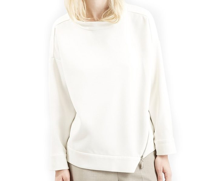 Edgy White Sweater in UK and Australia