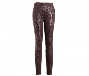 Finger Print Brown Leggings in UK and Australia