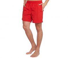 Flashy Hot Red Beach Shorts in UK and Australia