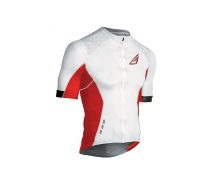 Flashy White Cycling Jersey in UK and Australia
