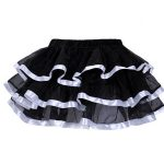 Flirty Frills Short Skirt