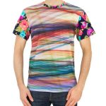 Floral Mesh Sublimation Tee in UK and Australia