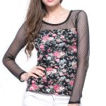 Floral Sheer Top in UK and Australia