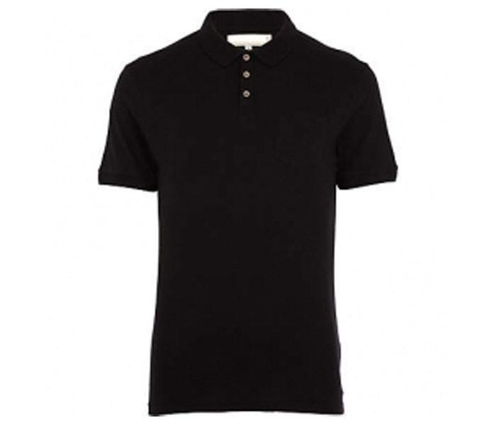 Full Black Polo T shirt in UK and Australia