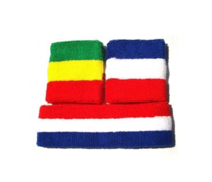 Funky Multi-Colour Head Sweat Band in UK and Australia