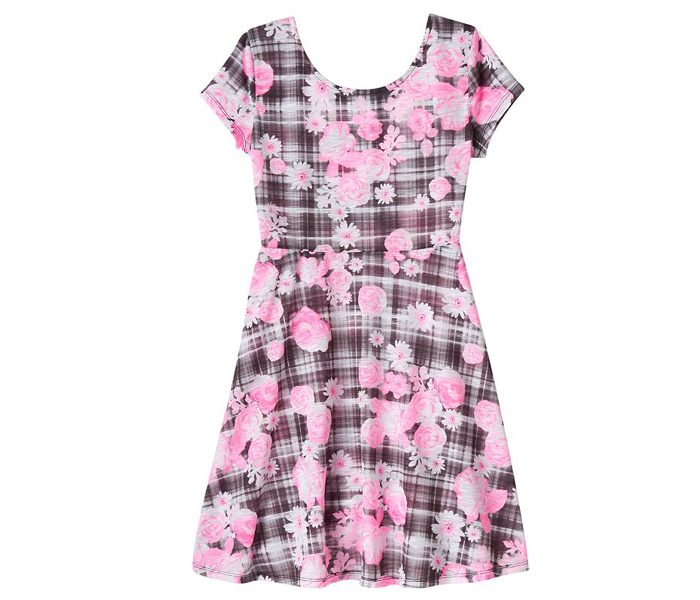 Graphic City Print Skater Dress in UK and Australia