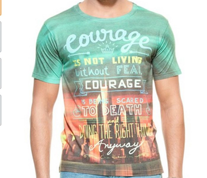 Green Courage Sublimation Tee in UK and Australia