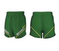 Green on Green Rugby Shorts in UK and Australia