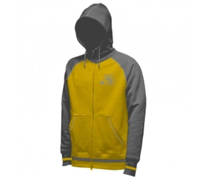 Grey and Canary Yellow Designer Hoodie in UK and Australia