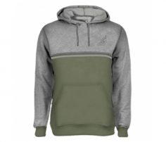 Grey and pastel Green Designer Hoodie in UK and Australia