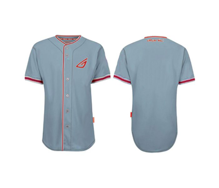 Grey Baseball Shirt in UK and Australia