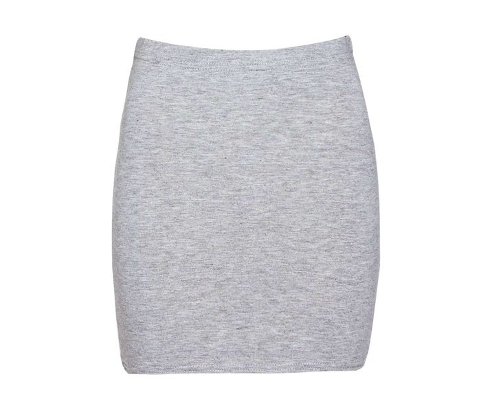 Grey Body Con Skirt in UK and Australia