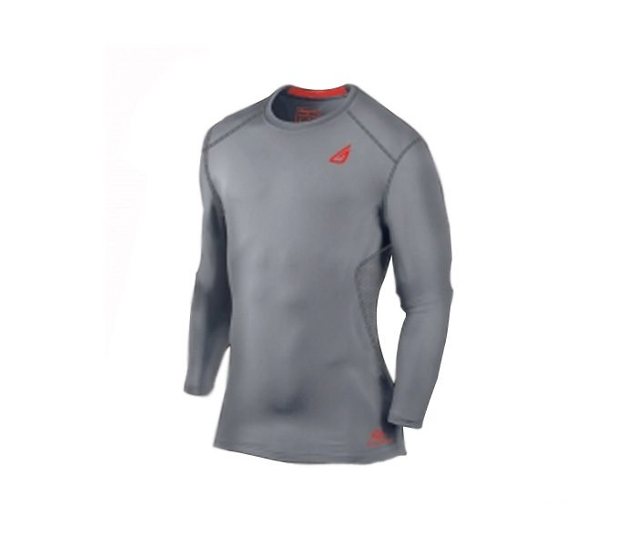 Grey Compression Fit Baseball Uniform in UK and Australia
