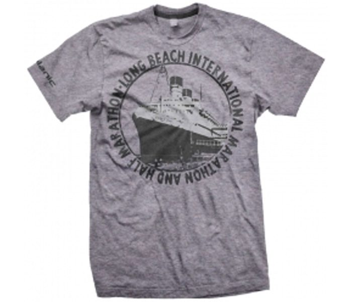 Grey Crushed Marathon Tee in UK and Australia