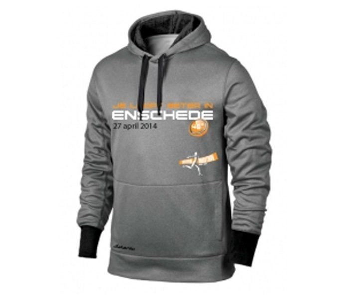 Grey Designer Marathon Hoodie in UK and Australia