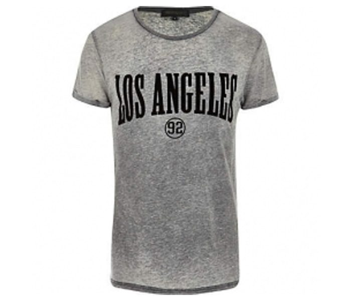 Grey With Los Angeles Print in UK and Australia