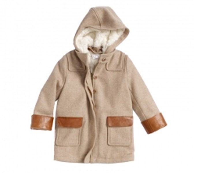 Hooded Blended Wool Jacket in UK and Australia