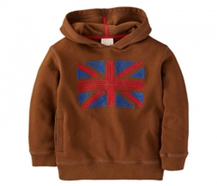 Hooded Brown Boys Jacket in UK and Australia
