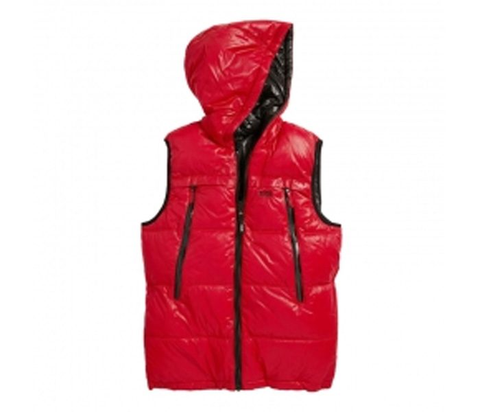 Hooded Glossed Fleece Jacket in UK and Australia