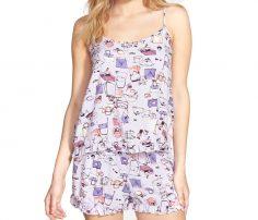 Ladies Romper Pattern Sleepwear in UK and Australia