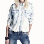 Lazy Denim Boyfriend Shirt UK and Australia