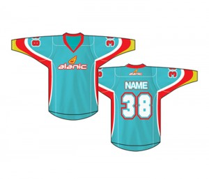 Light Blue Ice Hockey Jersey in UK and Australia