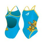 Light Blue Printed Swimsuit in UK and Australia