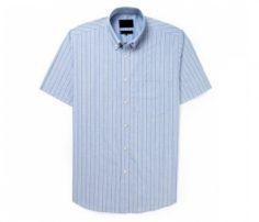 Light Blue Stripe Half Sleeve Shirt in UK and Australia