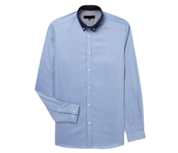 Light Blue with Black Collar Shirt in UK and Australia
