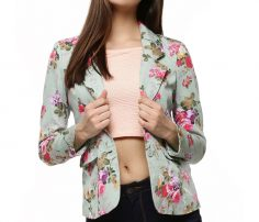 Light Floral Lifestyle Coat in UK and Australia