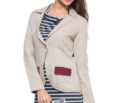 Light Grey Lifestyle Coat in UK and Australia