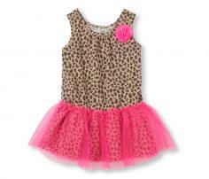 Lovely Leopard Print Mesh Dress in UK and Australia