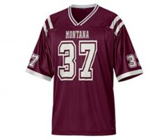Maroon American Football T Shirt Jersey in UK and Australia